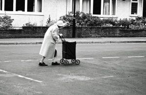 oude dame