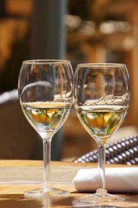 wijn op stand